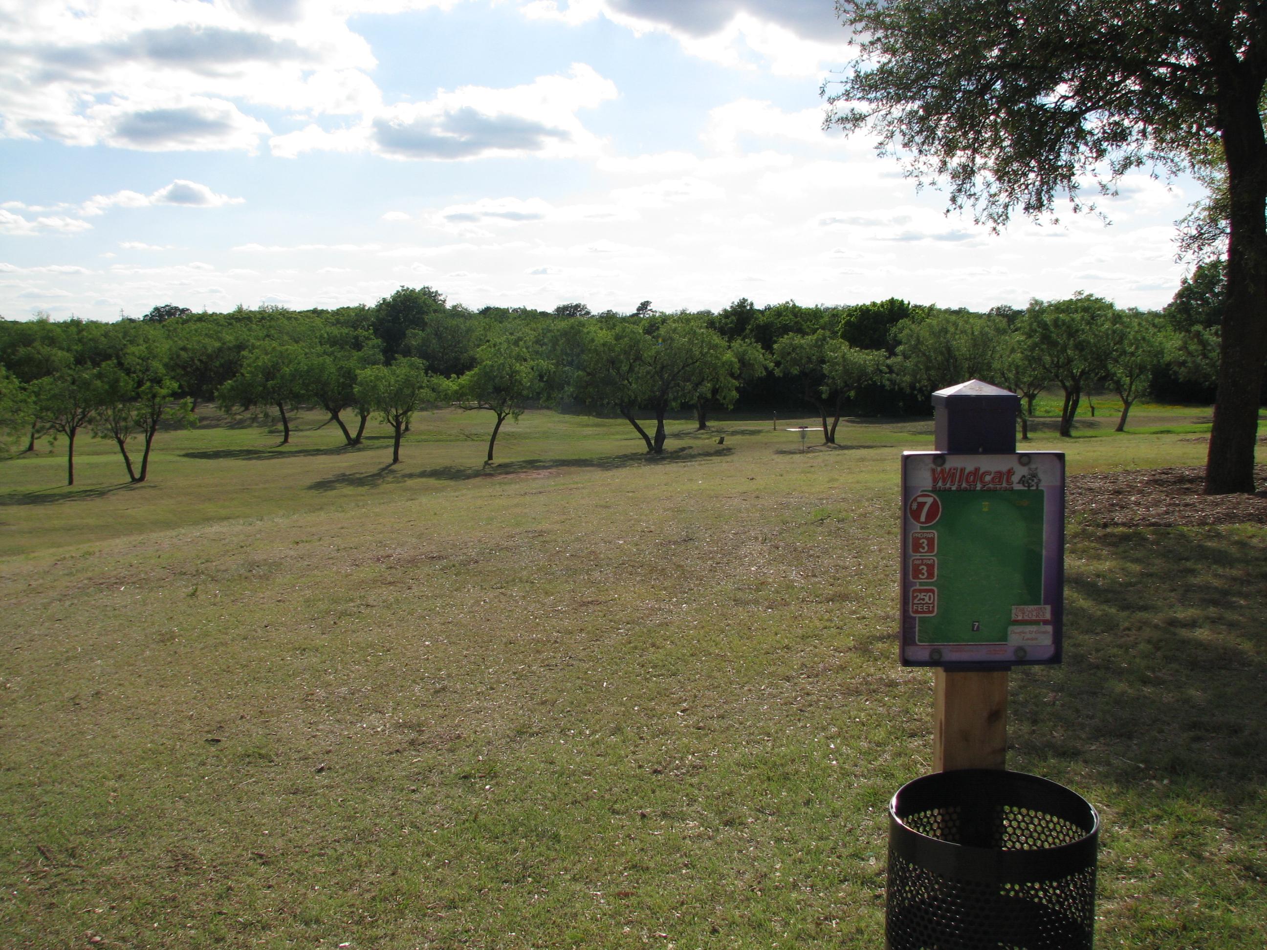 ACU Wildcat Disc Golf