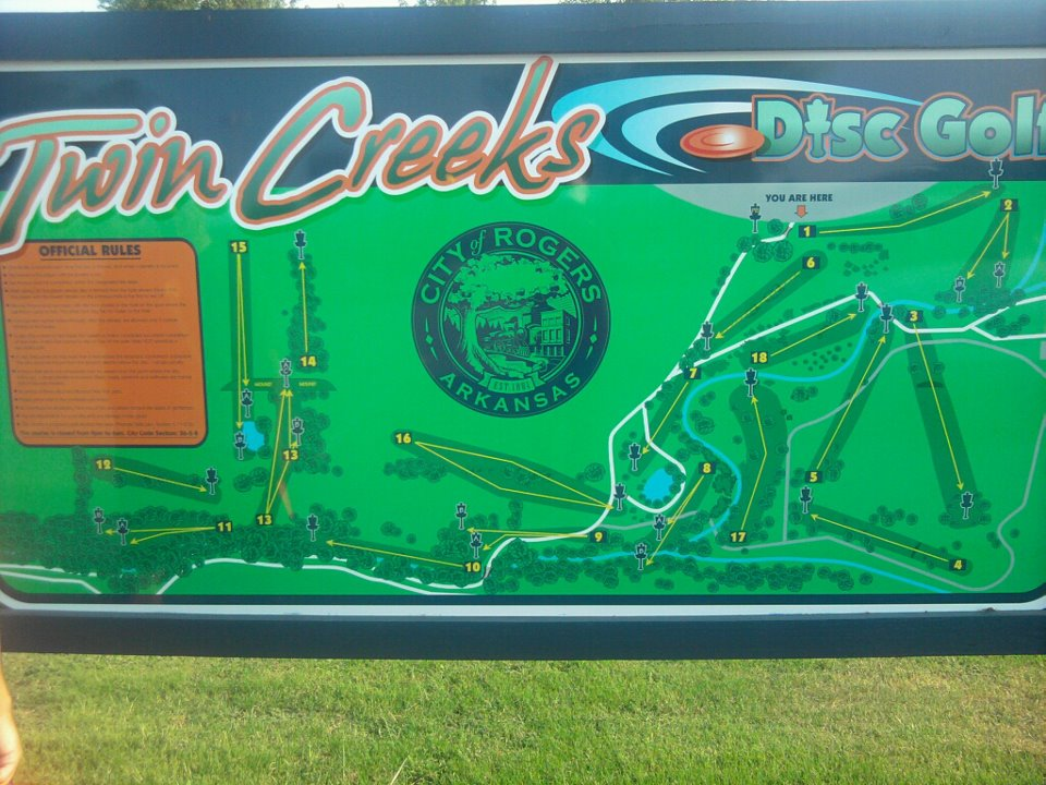 Twin Creeks Disc Golf Course