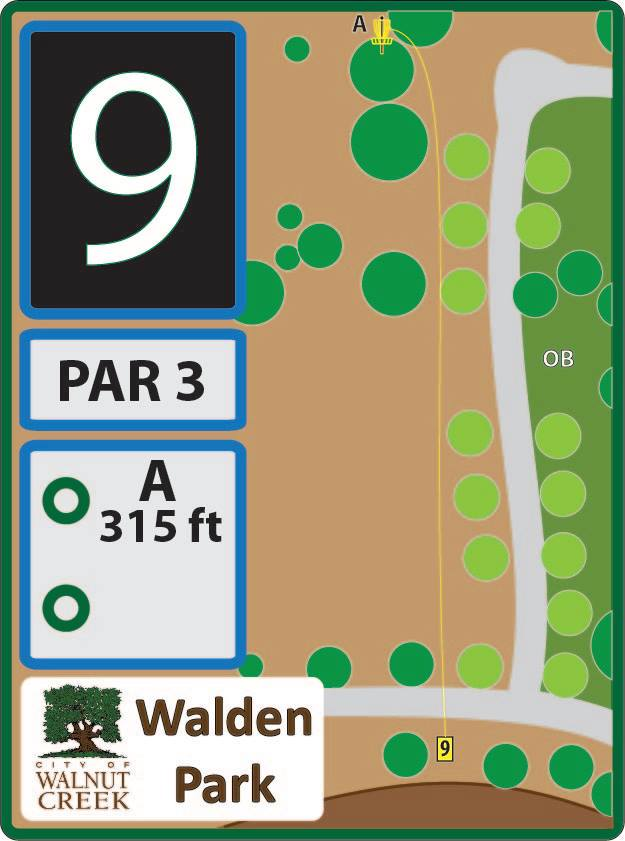 Walden Park Disc Golf Course